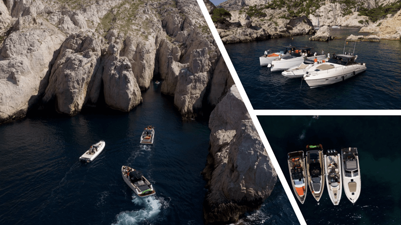 Exclusive boat trip in the Calanques
